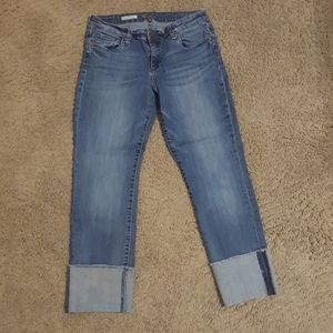 Kut from the Kloth Cropped Cuffed Jeans
